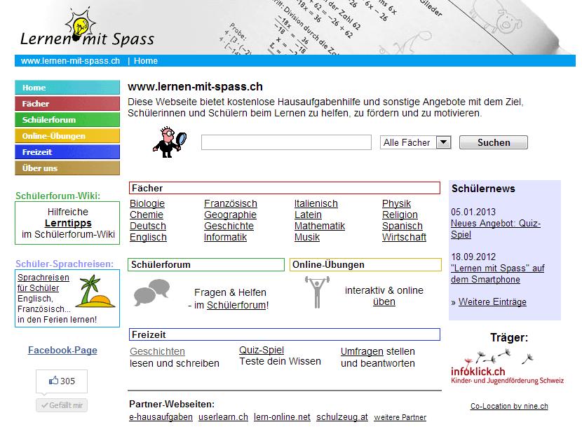 Lernen-mit-Spass Screenshot