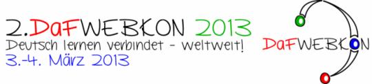 2. DaFWEBKON 2013 Logo