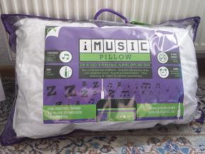 iMusic Pillow Musikkissen in der Verpackung