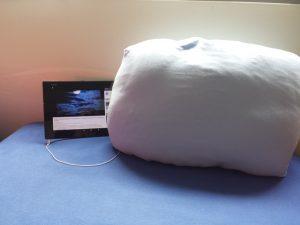 Musikkissen iMusic Pillow mit Kissenbezug