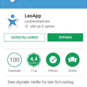 LeoApp im Play Store von Google