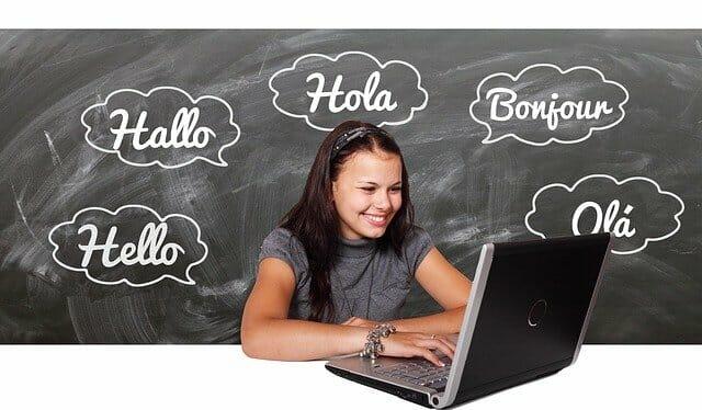 Hallo auf 5 Sprachen