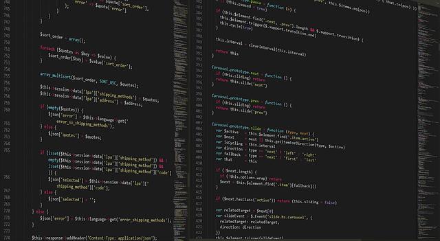 PHP Code zeigt Programmieren in Aktion