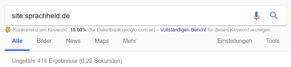 sprachheld-seo-google-check-index