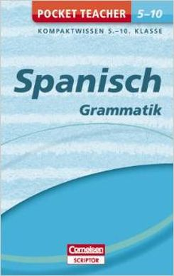 Pocket Teacher Spanisch Grammatik